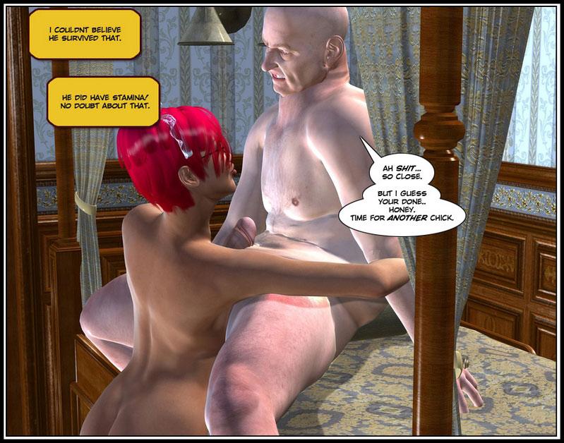 3d adult comics