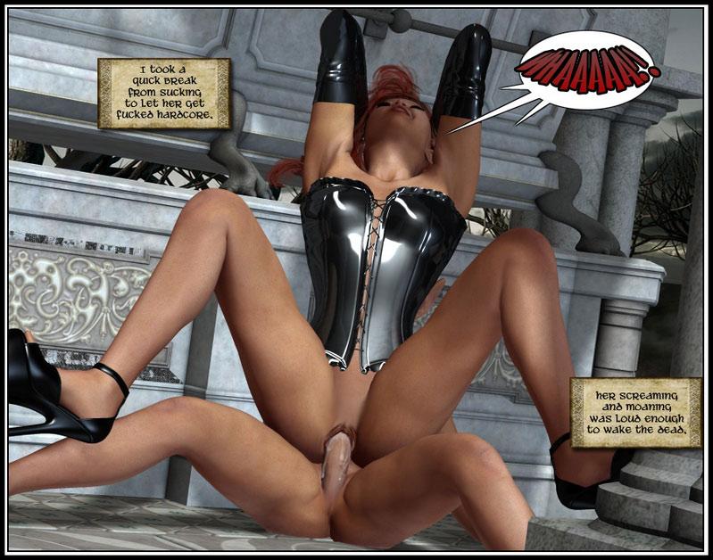 3d porn comix