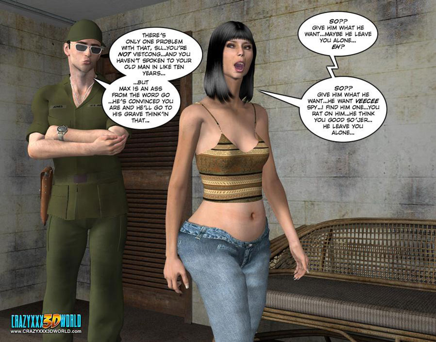 3d sex comics book