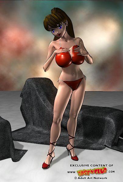 Realistic 3d fantasy porn